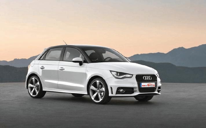 Audi A1 1000cc petrol 5-door rental in promotion in Naples