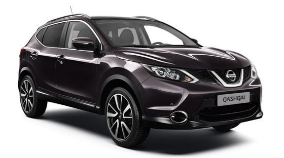 Nissan Qashqai in promotion in Naples