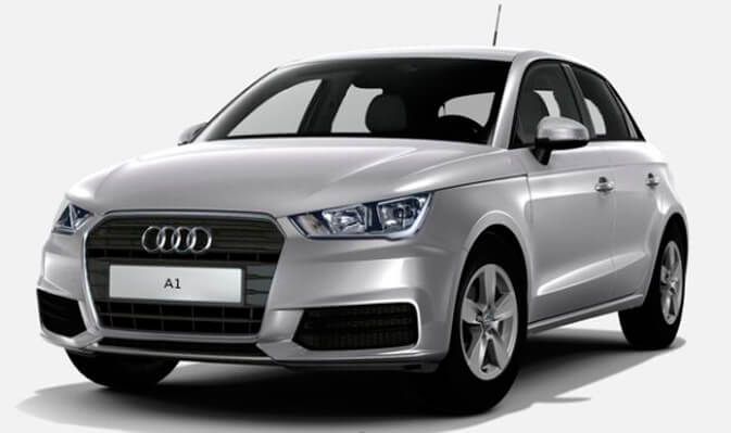 Audi A1 SportBack in promotion in Rome
