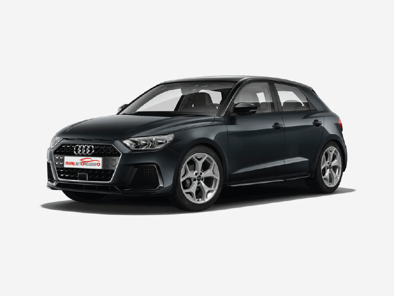 Audi A1 SportBack rental in promotion in Rome