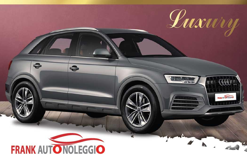 Audi Q3 in promotion in Rome