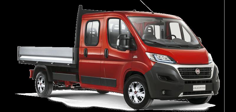Fiat Ducato doppia cabina 7 posti diesel in promozione su Napoli