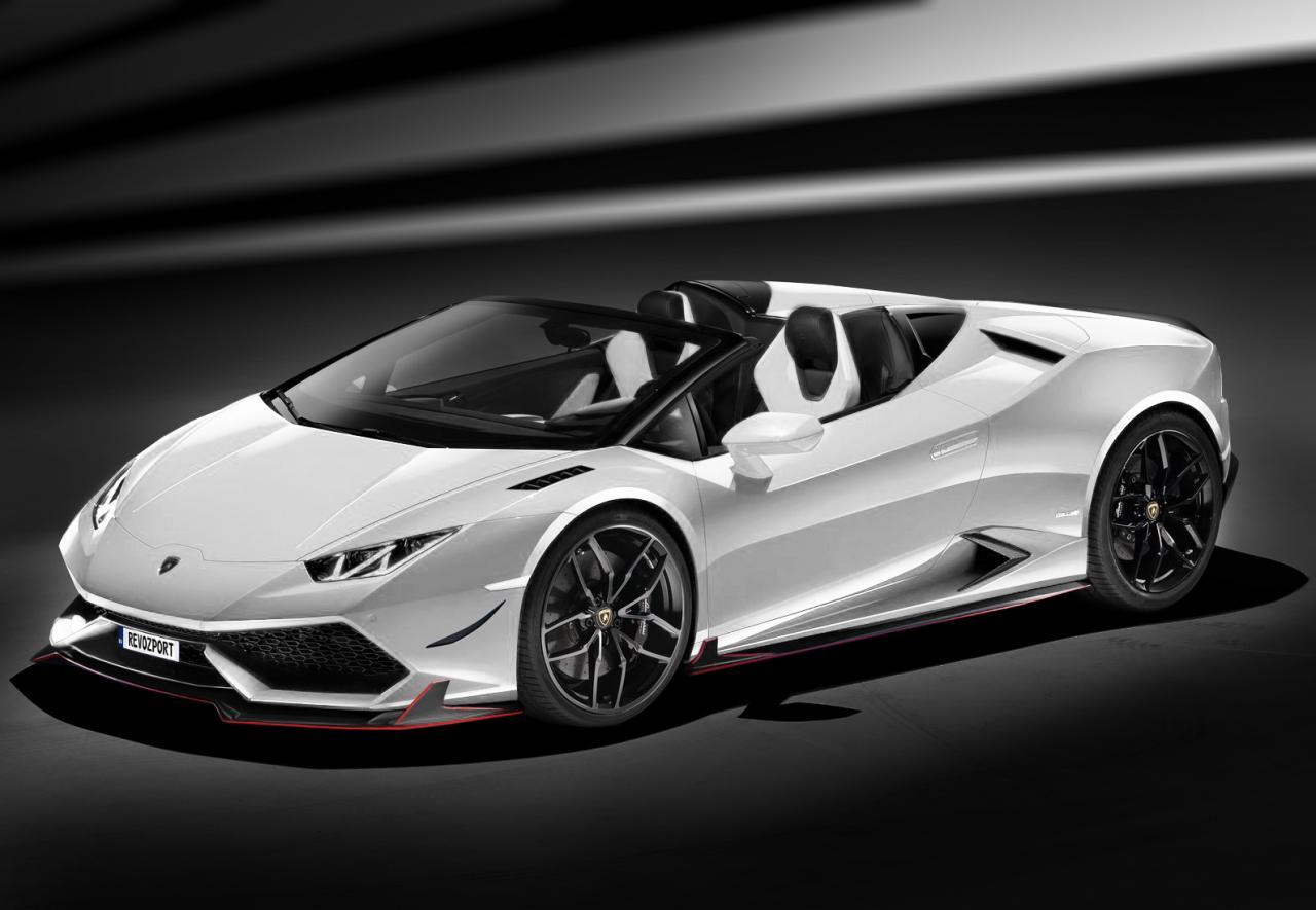 Lamborghini Huracán Cabrio White