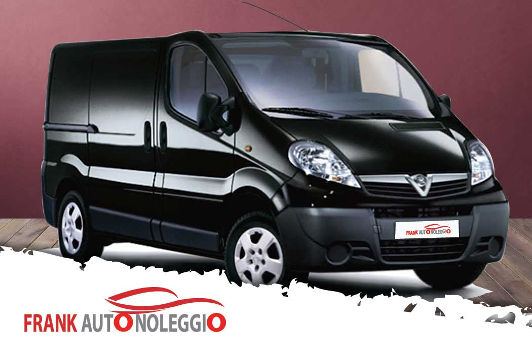Opel Vivaro 9 seats in promotion in Naples
