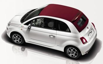 Fiat 500 Cabrio in promozione su Roma